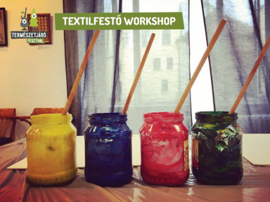 Textilfestő workshop